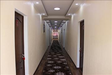 The corridors of the hotel Asia+